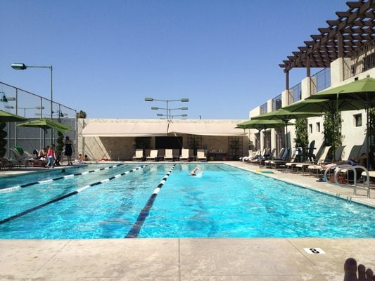 Los Angeles Tennis Club Pool