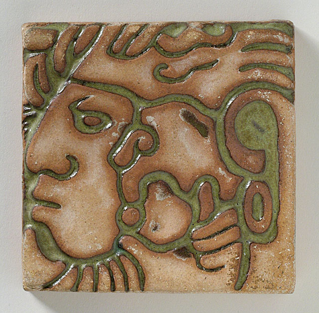 Batchelder Mayan Tile