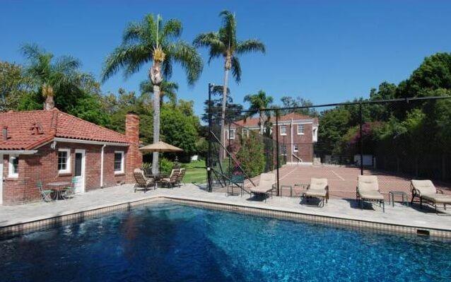 H M Warner House Pool
