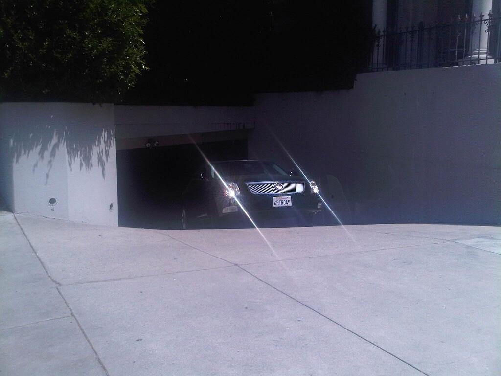 west hollywood granville parking