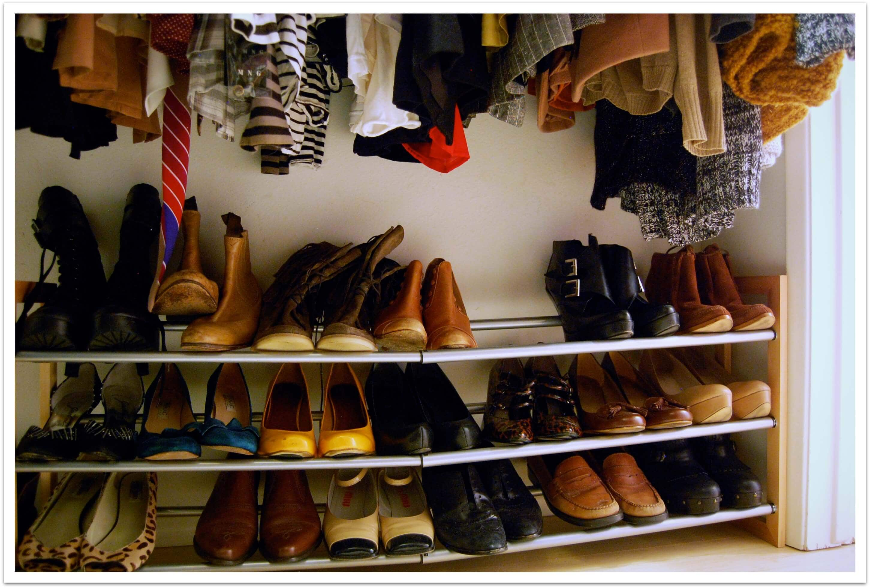 Picking a shoe rack James Campbell