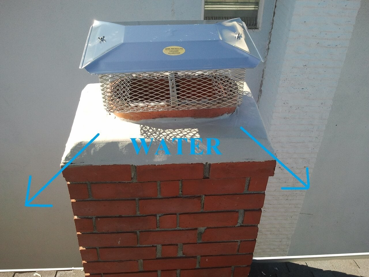 Water In Chimney : Chimney repairs james campbell