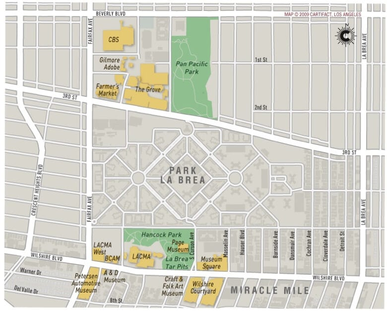miracle mile map