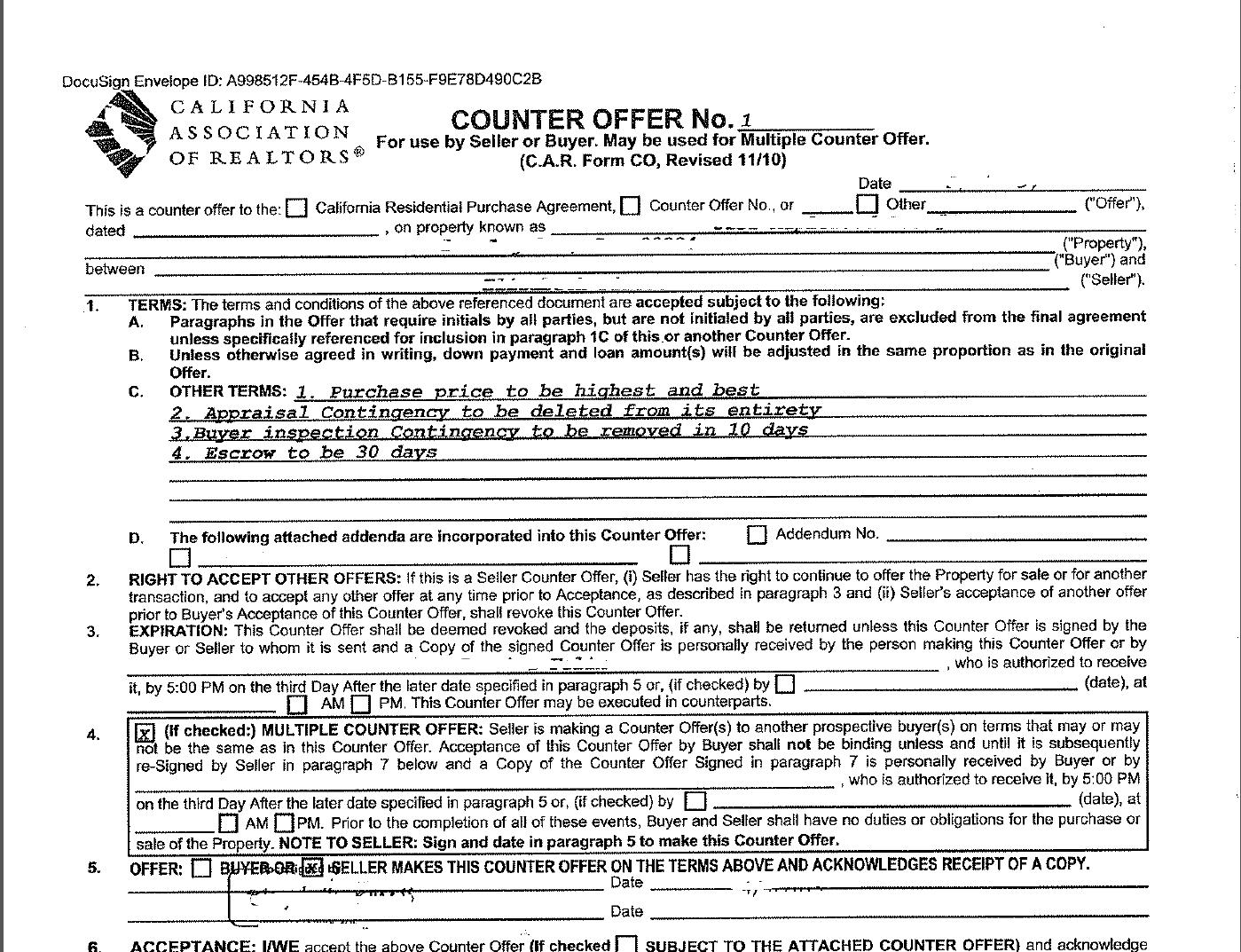counter offer letter samples broluthfi