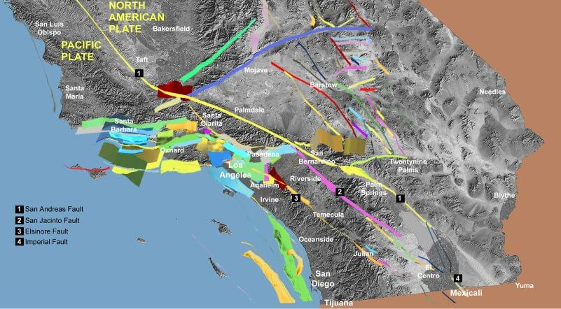 Los Angeles Faults
