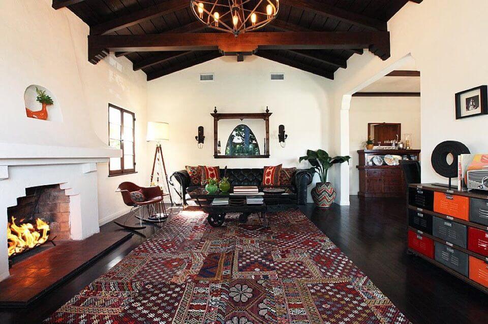 vintage patchwork rug
