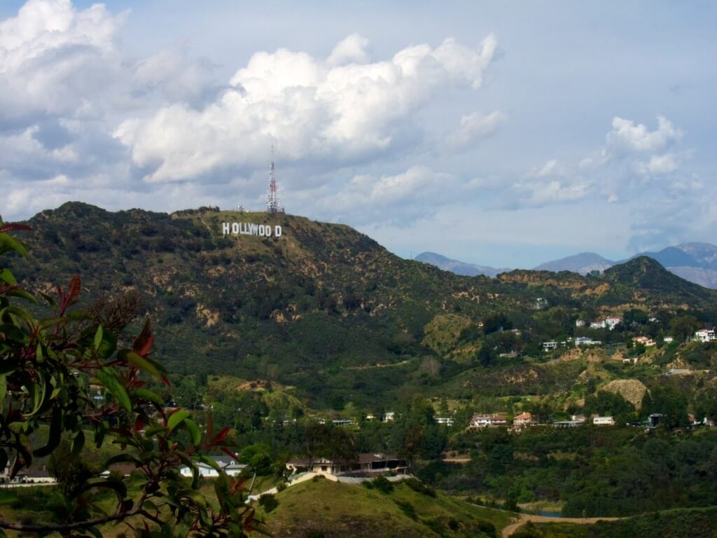 Hollywood Bowl Overlook Mulholland Scenic Corridor