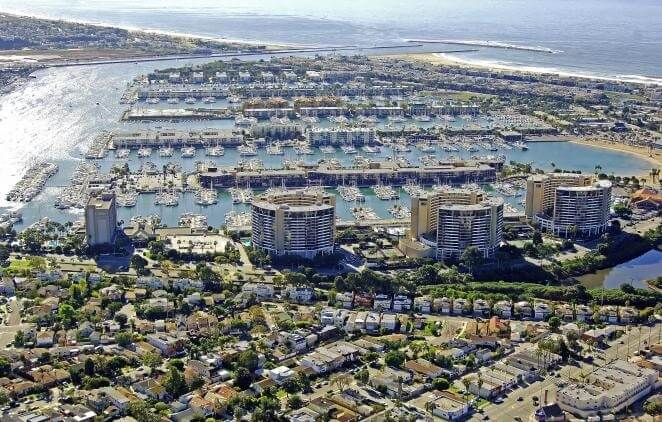 Marina City Club Aerial