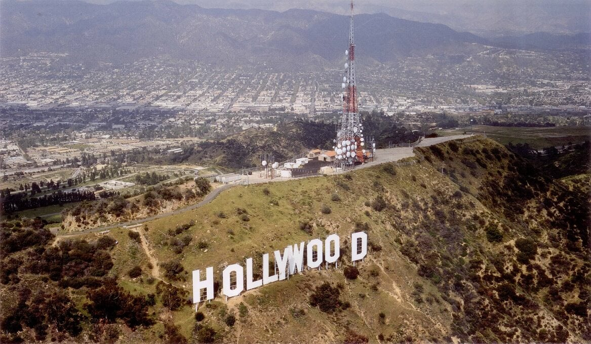Hollywood Sign James Campbell