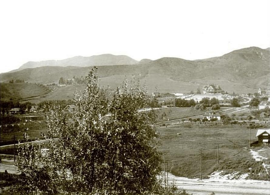 Holmb Mansion, Hollywood 1904
