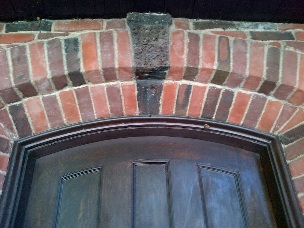 Clinker Brick Doorway