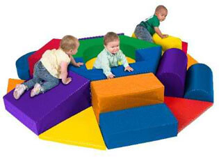 Wheel Softzone Playcenter for crawlers and new walkers