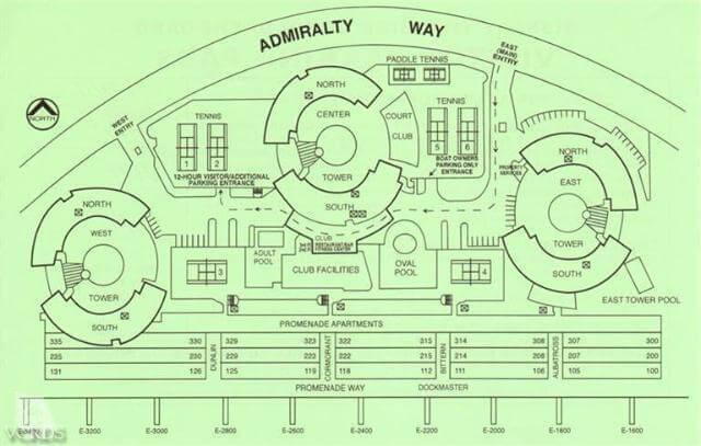 marina city club map