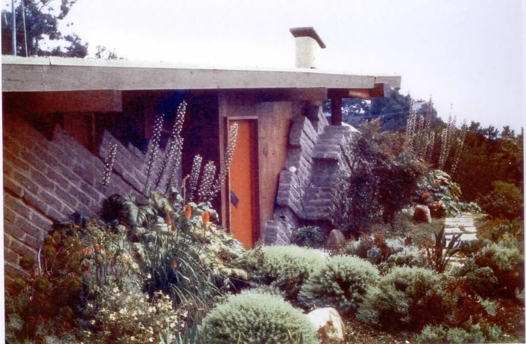 gesner slant adobe house
