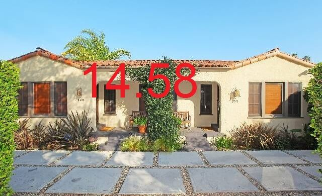 860 N Las Palmas has a GOI of 60K. 875/60= 14.58