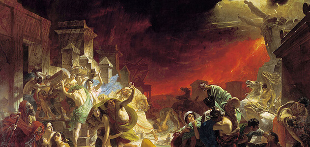 Last Days of Pompeii Karl Briullov