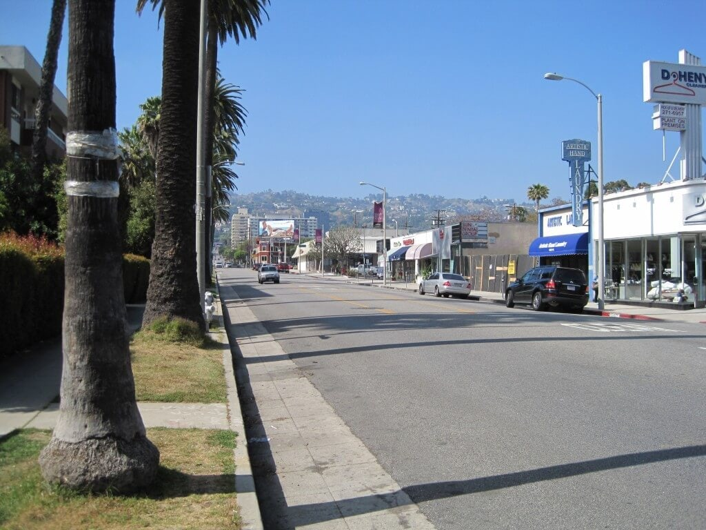 Doheny Drive street view