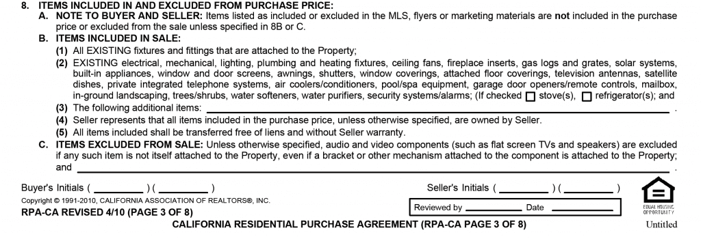 Paragraph 8 RPA