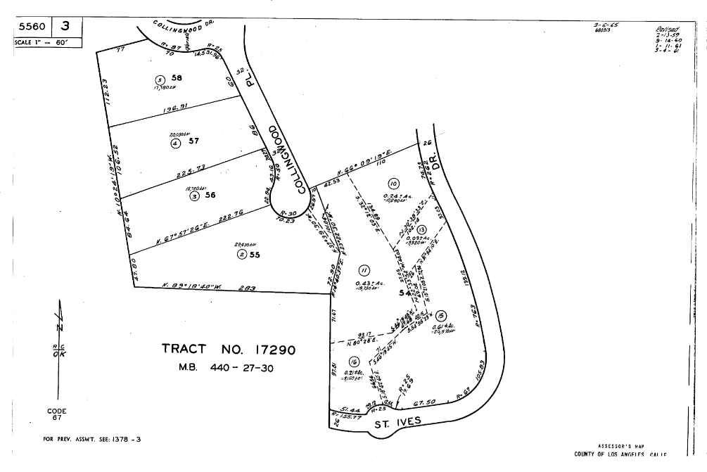 Plat Map collingwood