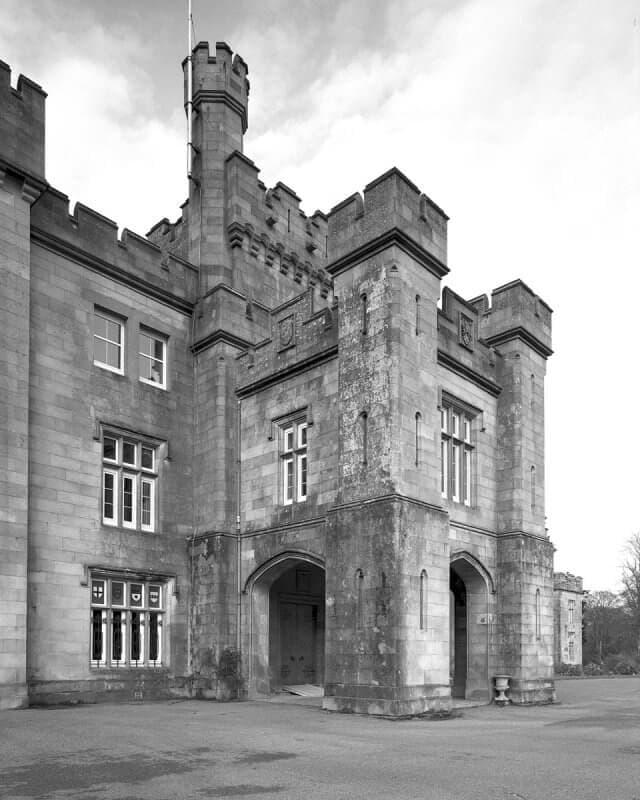 Scottish Porte Cochere