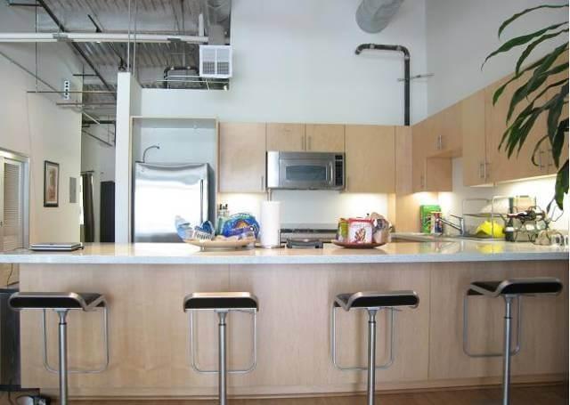 kitchen flower street lofts