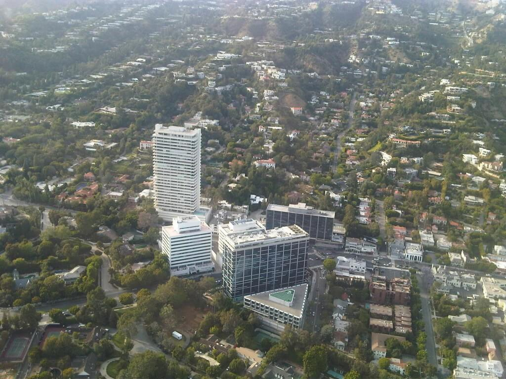 Sierra Towers Aerial