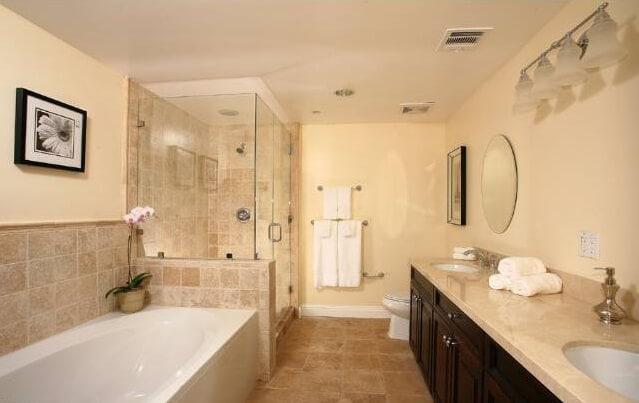 Bathroom rosewood villa