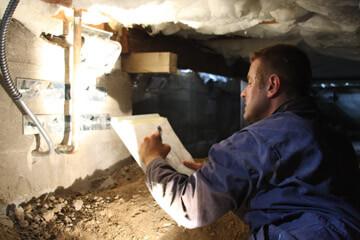 Foundation Works Foundation inspection