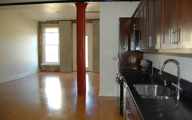 Pan Am Loft kitchen