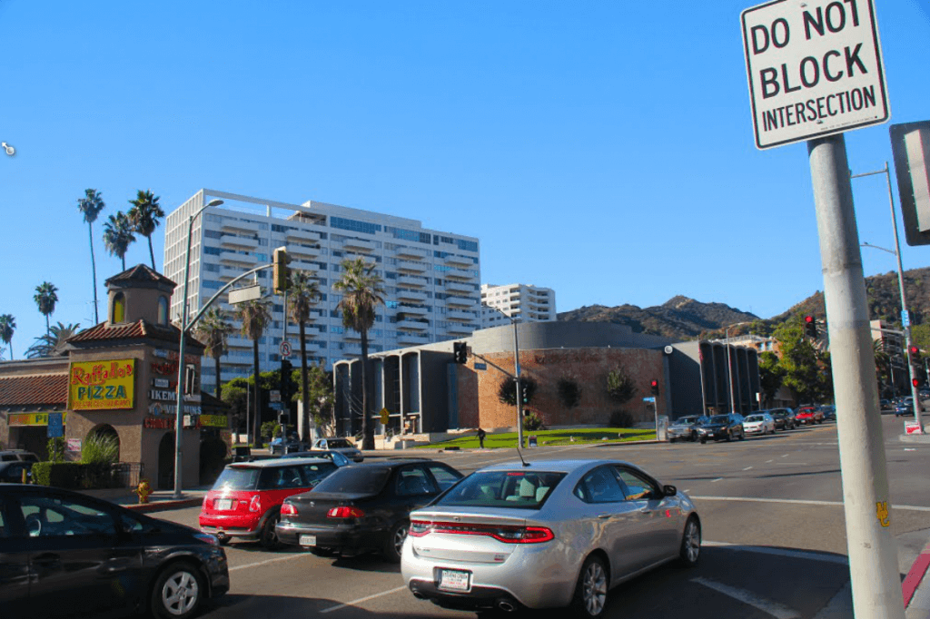 labrea hollywood intersection