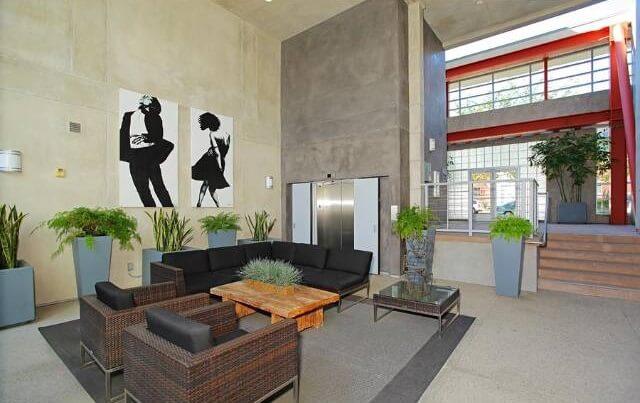 T Lofts lobby