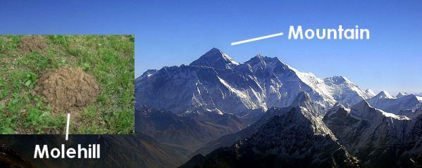 molehill-mountain