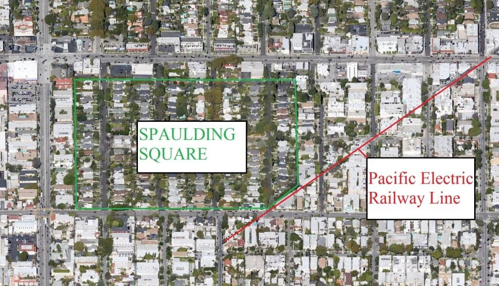 Spaulding Square Pacific Electric Railway
