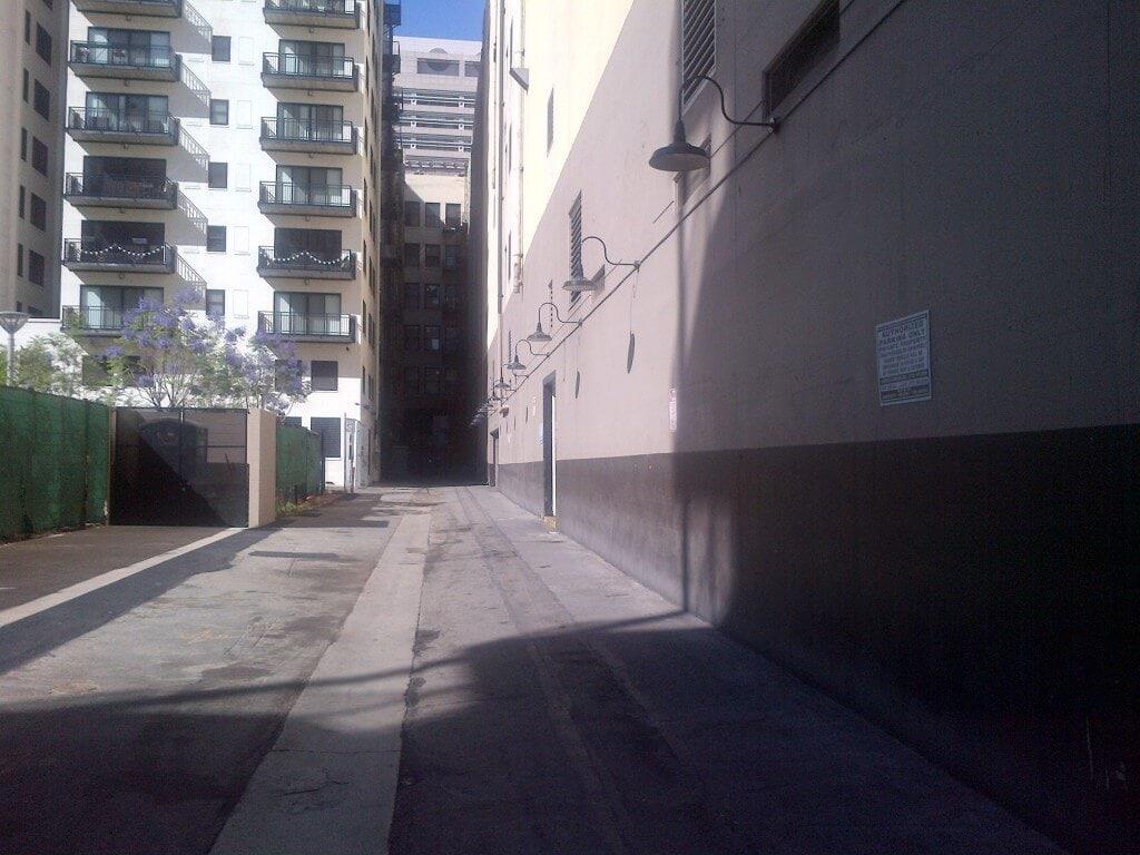 Parking Garage rowan lofts