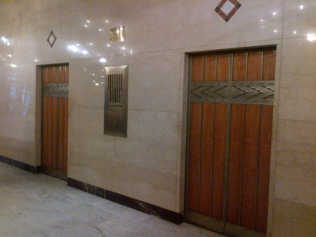 Art Deco Elevator doors Rowan lofts