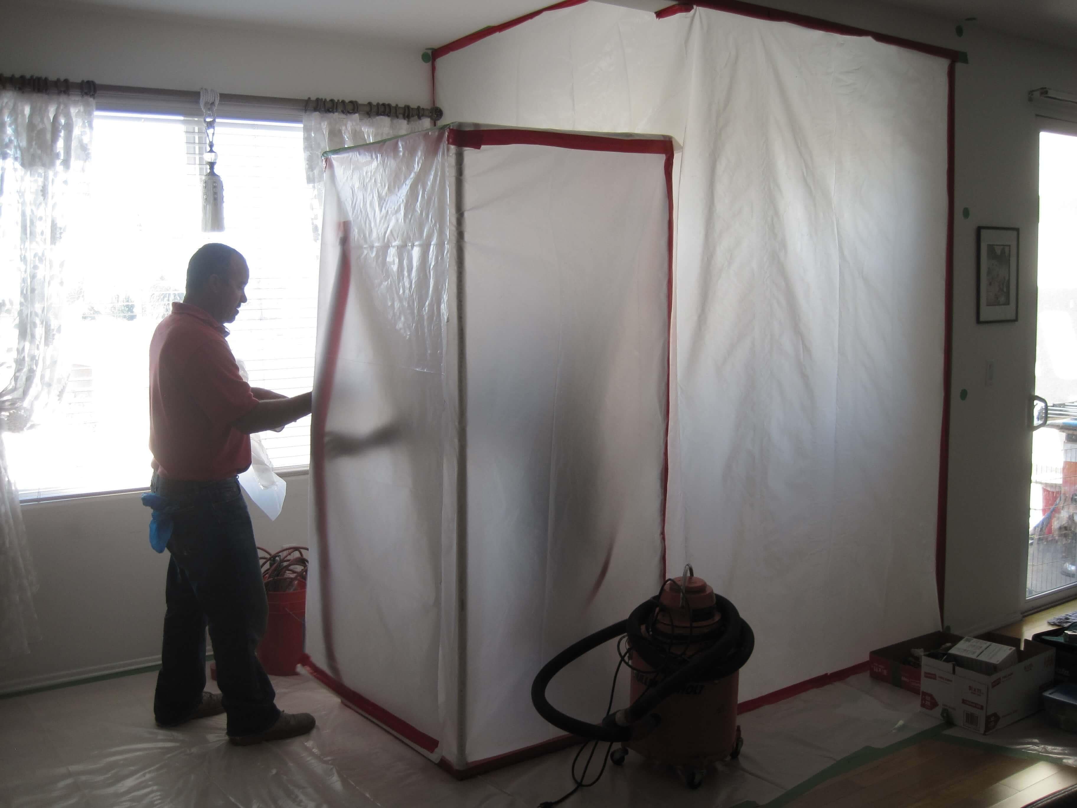 Mold Remediation Containment Tent