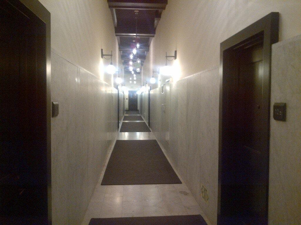 Rowen Lofts carrera marble hallways