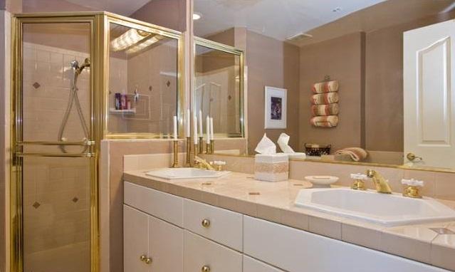 1351 N Curson Avenue masterbathroom