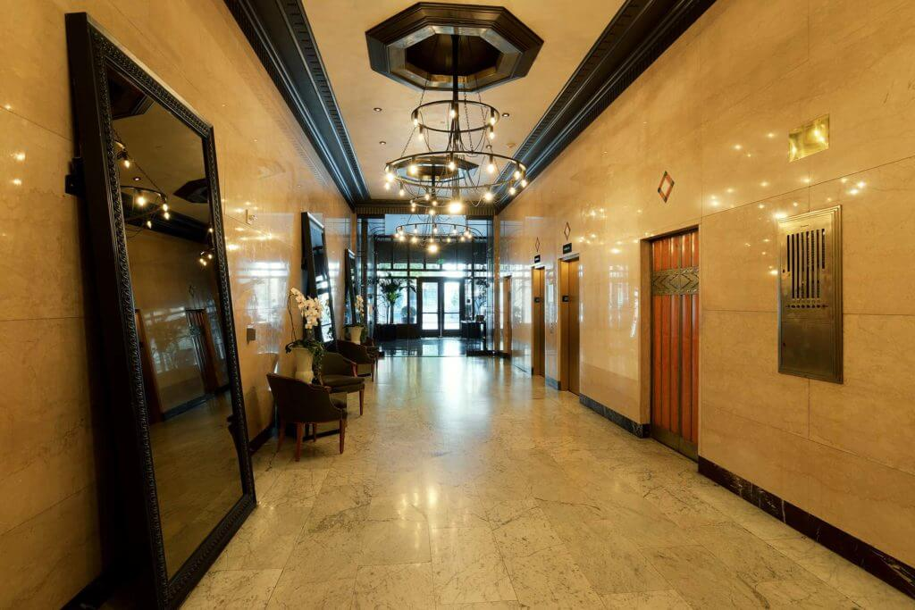 rowan building lobby