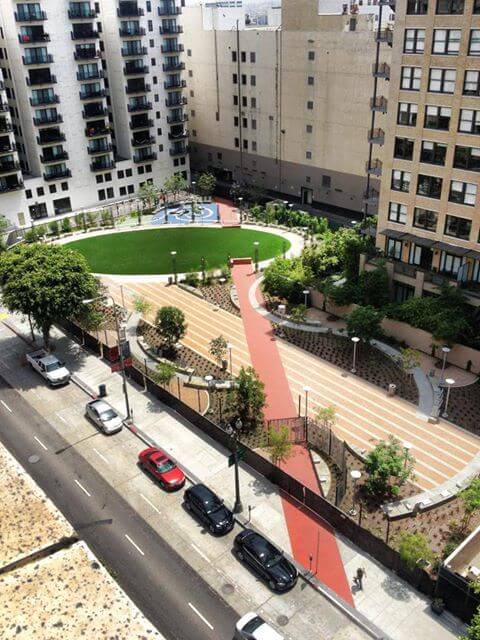 spring street park downtown los angeles