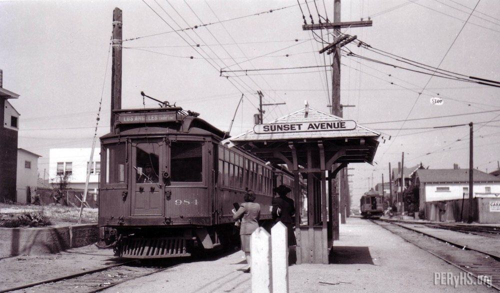 sunset pacific electric railway