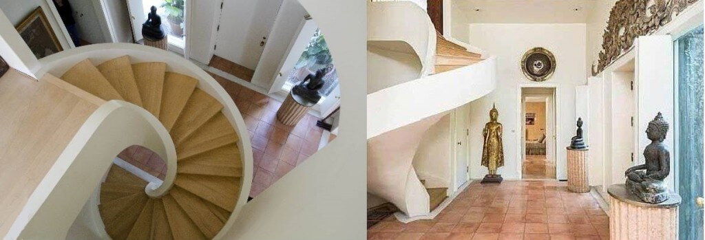 882 Doheny Staircase