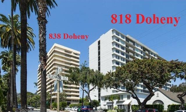 818 Doheny 838 Doheny