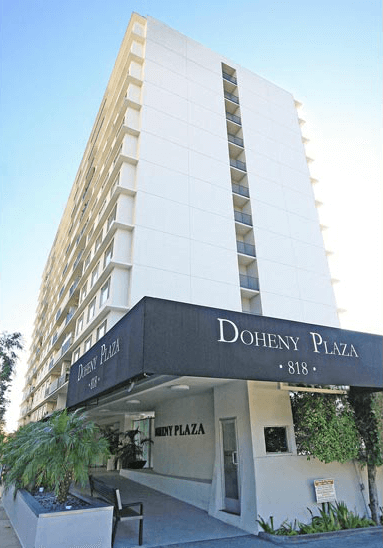Doheny plaza for sale
