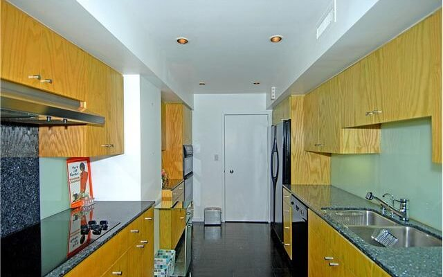 818 Doheny Galley style kitchens