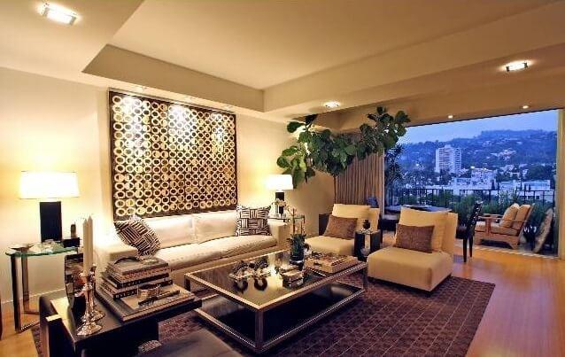 818 Doheny Living Room