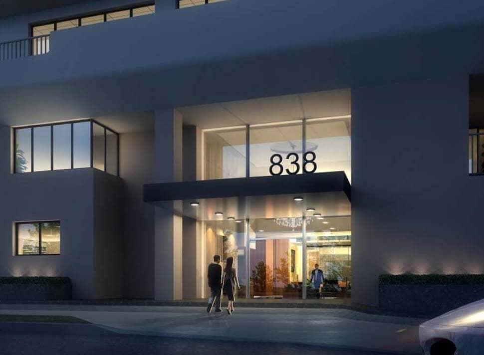 838 N Doheny Dr new lobby