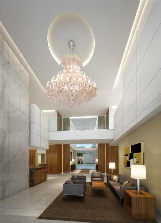 Doheny Plaza Towers new lobby