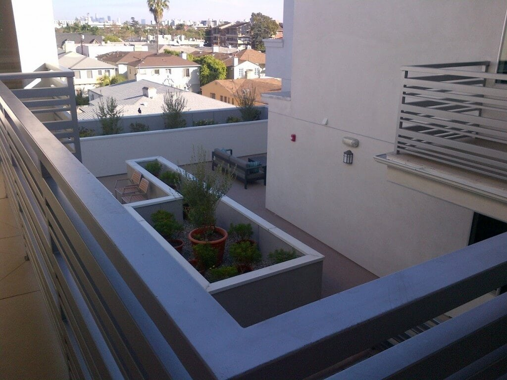 Rooftop Patio on the 4th floor