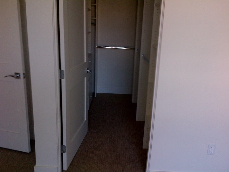 Finished Walk In Closet